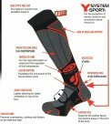 BV Sport Slide Snow Ski Socks